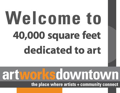 Branding: Art Works Downtown