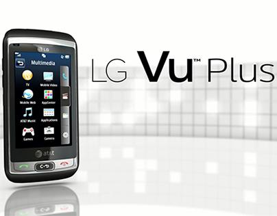 LG Vu Plus Promo Video Stills