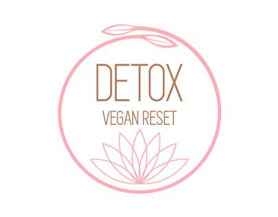 Logotipo - Detox Vegan Reset (propuesta)