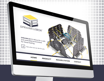 SPRAINKLEBOX Landing Page