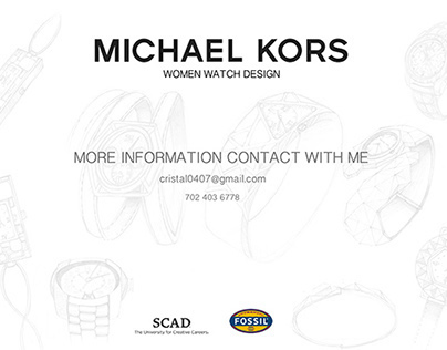 Michael Kors women watch design 2015 summer collection