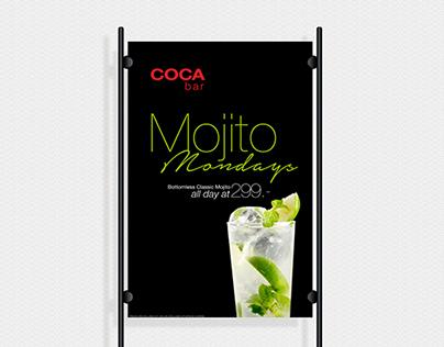 COCA Bar Weekday Cocktail Promo