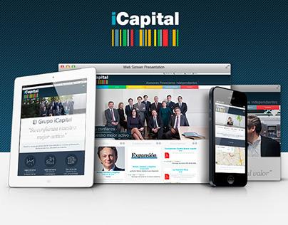 iCapital - Responsive Website