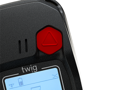 TWIG Protector Pro - lone worker handset for pro use