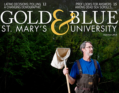 St. Mary's University Gold & Blue | Summer 2014
