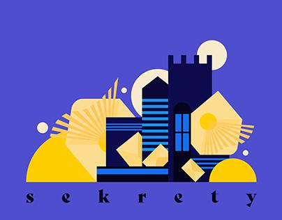 SEKRETY / visual identity