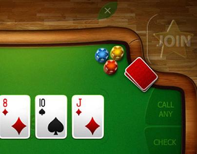 Poker card game app