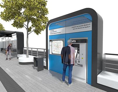 Station de tramway PARIS T9 - RCP design