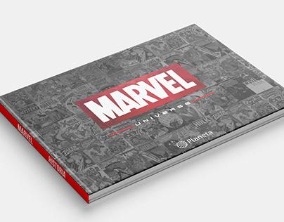 Diseño Editorial- Libro de Marvel