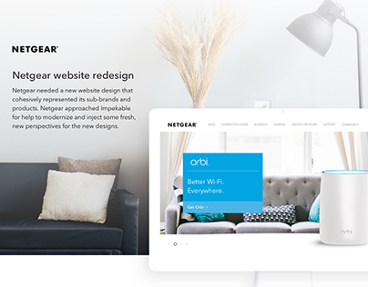 Netgear Website Redesign