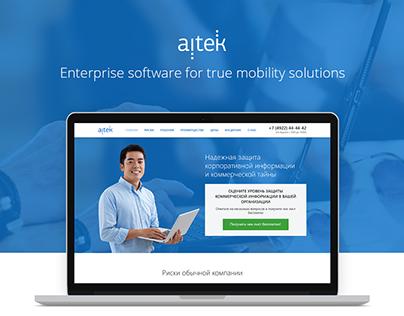 Aitek - enterprise software for true mobility solutions