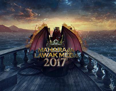 Maharaja Lawak Mega 2017 On Air Graphics Packaging