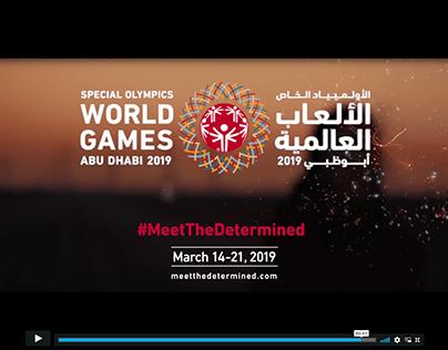 Special Olympics World Games Abu Dhabi 2019