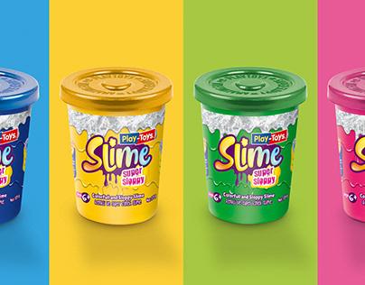 Play Toys Slime Ambalaj Tasarımı