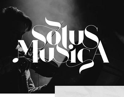 Solus Musica Logo Design
