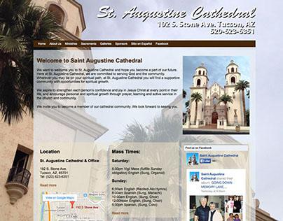 St. Augustine Cathedral Website Design & Development