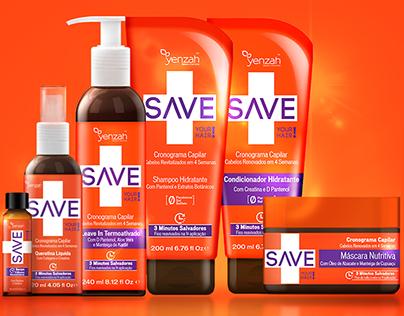SAVE Your Hair - Conceito e Naming