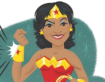 Wonder Woman Farewell Piece