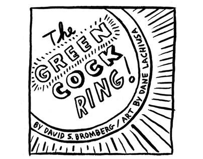 The GREEN COCK-RING, a Superhero Parody.