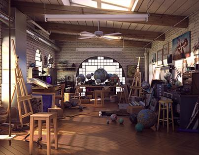 La Chambre D'Artiste