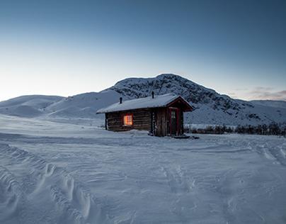 huts...