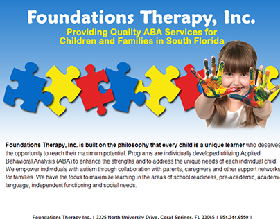 Foundations Therapy: Public and Members Only Website