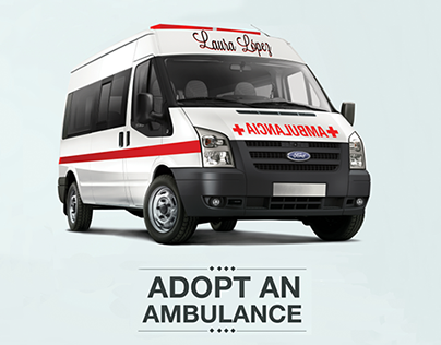 """ADOPT AN AMBULANCE"" for MEXICAN RED CROSS"