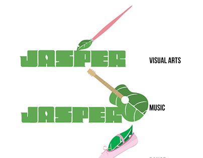 Jasper Magazine internship logo designs