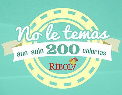 Ríbola - Sólo 200 calorias