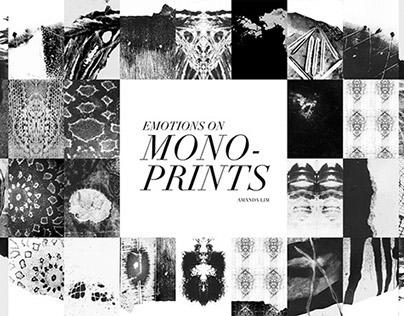 Emotions on Monoprints