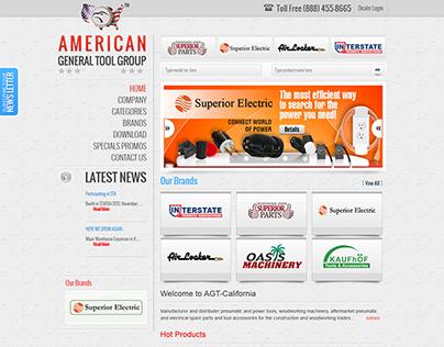 American General Tools (Award Winning Website)
