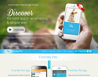 Single Pages Website Design