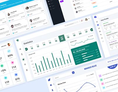 Dashboard UI Design | Vol.01
