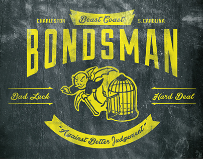 Beast Coast Bondsman — An original Charleston, SC brand