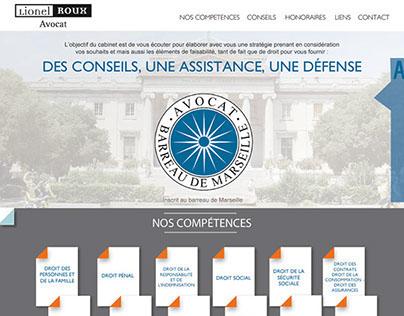 Lionel Roux website - Avocat / Lawyer