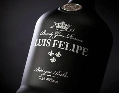 LUIS FELIPE Brandy Gran Reserva   Packaging