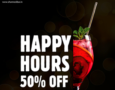 Happy Hours- Shamrock, Hyderabad