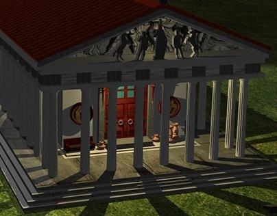 3D Parthenon Project