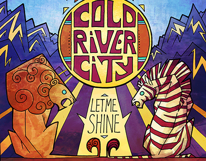 Cold River City - Let Me Shine Album Design