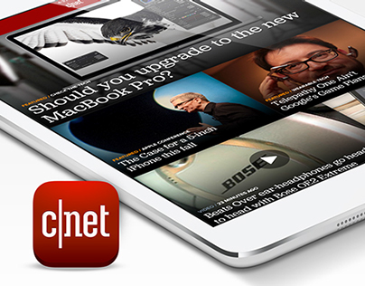 CNET iPad App
