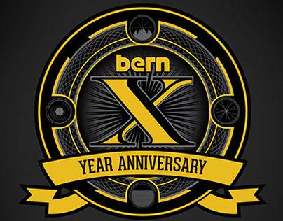 Bern Unlimited 10th Year Anniversary Branding