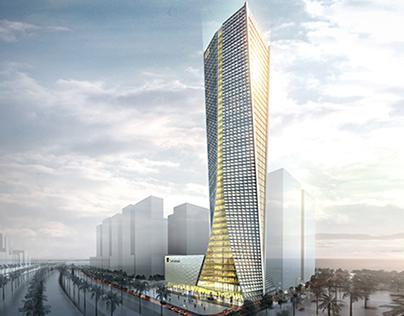 Sonangol Office Building -Trilliant Tower