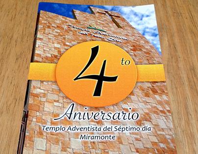 4th Anniversary brochure