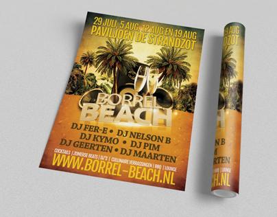 Flyer Borrelbeach 2014