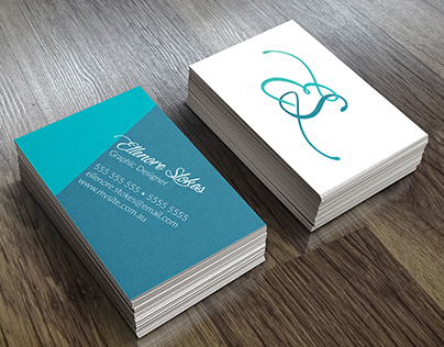 My Business Cards - Mock Up