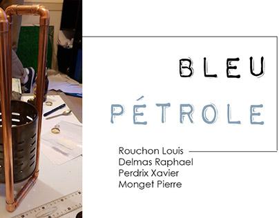 Eclairer-Bleu pétrole-Perdrix,Rouchon Delmas, Monget
