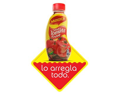 Salsa de Tomate MAGGI - Lo arregla todo