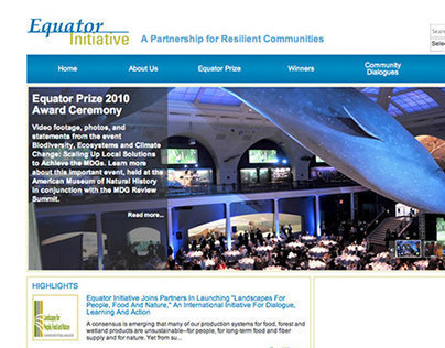 Equator Initiative Site