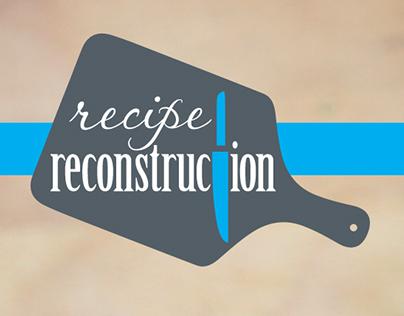 Recipe Reconstruction Logo Redesign