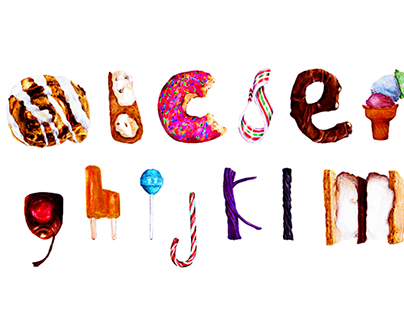 Bonbon | Hand-drawn Letterforms